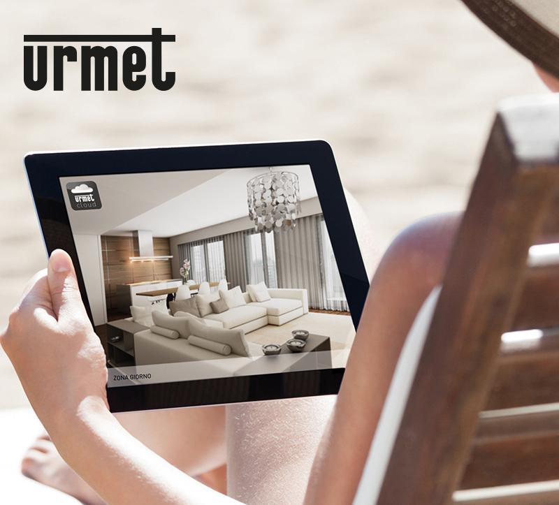 Informatieschermen van het merk Urmet