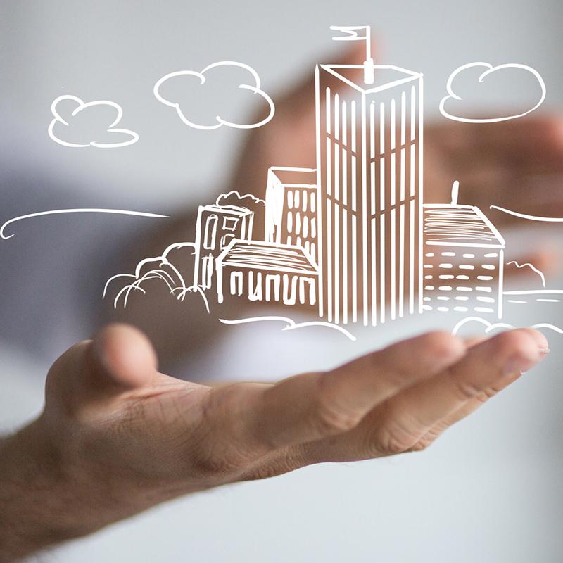 2-draads intercom voor gebouwbeheerders en -eigenaren