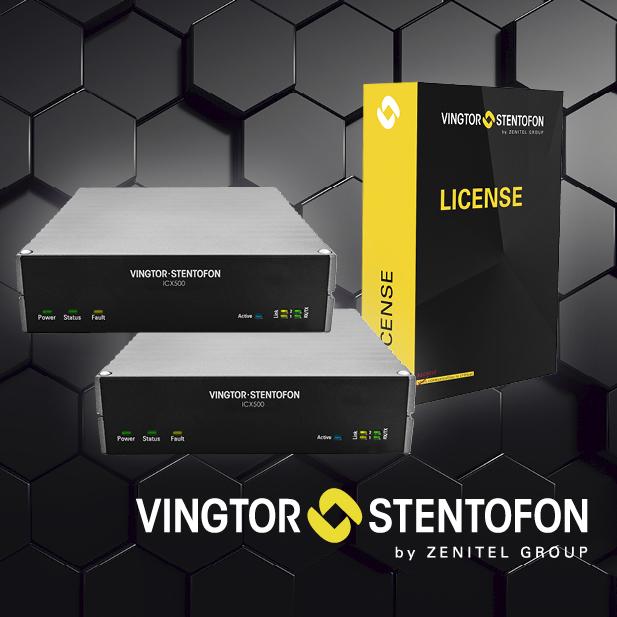 ICX-Platform Vingtor Stentofon