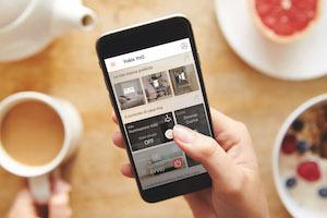 woningen automatiseren en aansturen via de yno-app voor draadloze domotica