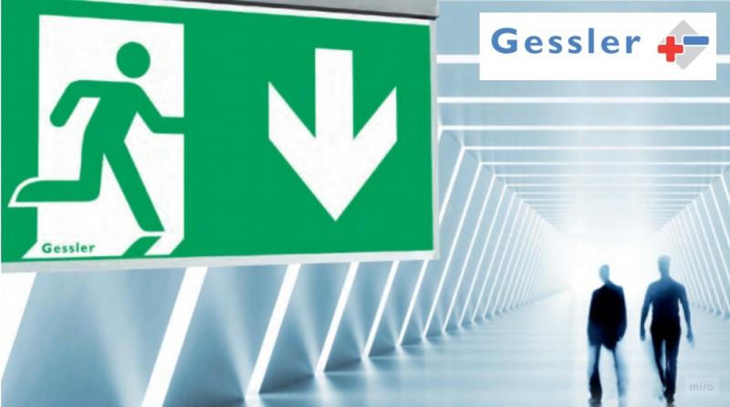 Gessler: oplossingen voor noodverlichting