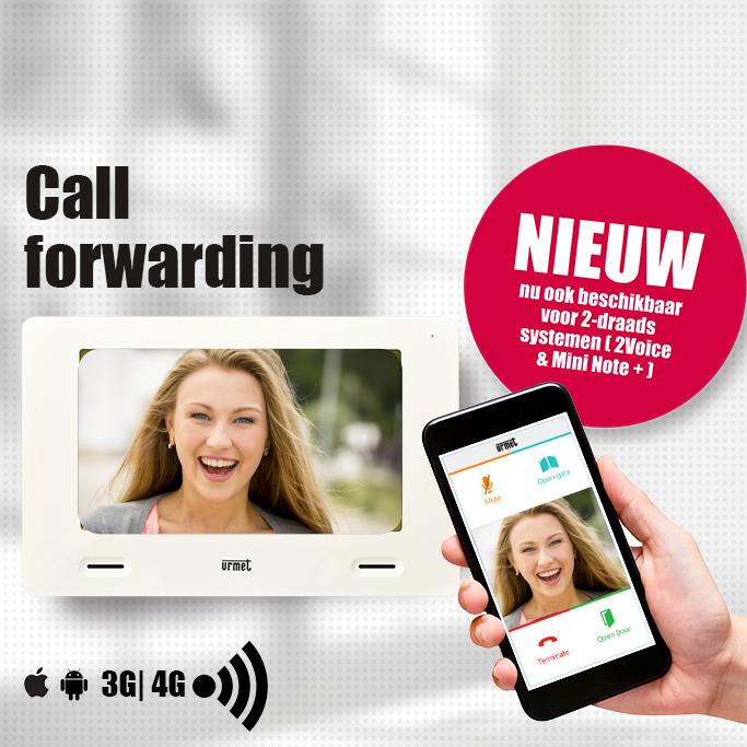 Maximale flexibiliteit met nieuwe doorschakelfunctie naar mobile device