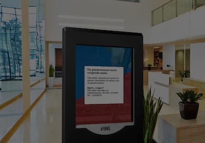 Wonen Zuid kiest IP Digital Notice Board