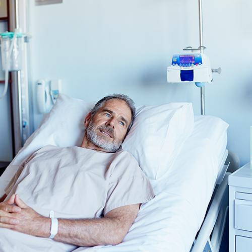 Communicatie met patiënten in corona gebouw