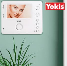 Handsfree Miro monitor nu standaard inclusief ingebouwde Yokis-zender