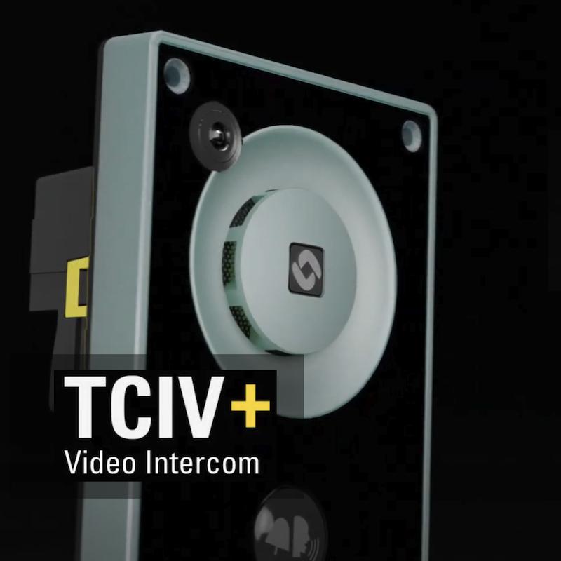 Nieuw van Zenitel: de TCIV+ video-intercomoplossing