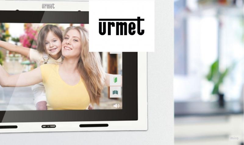 Urmet is marktleider op het gebied van toegangsbeheer en meer veiligheidsoplossingen