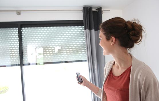 Domoticasysteem voor automatische zonwering