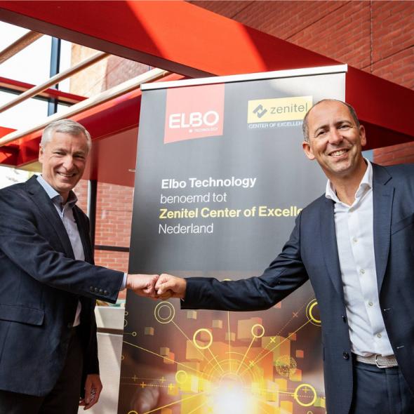 Nieuws Zenitel benoemt Elbo Technology tot Center of Excellence voor Nederland